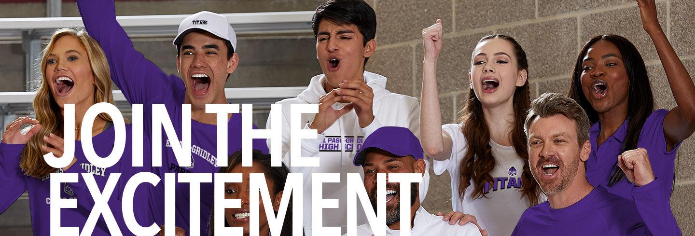 El Paso-Gridley Titans Join the Excitement Banner