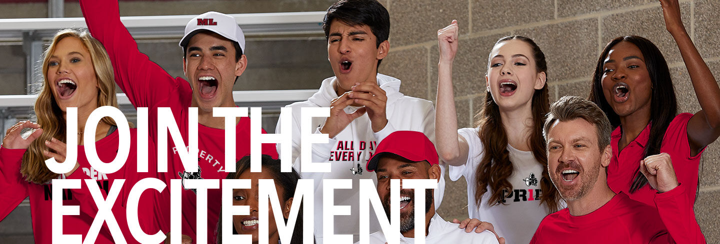 Mayer Lutheran Crusaders Online Store Join the Excitement Banner
