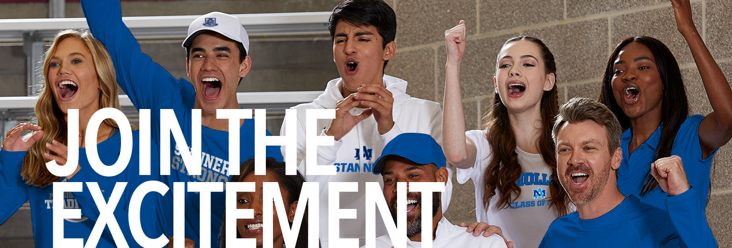 Archbishop Molloy Official Online Store Join the Excitement Banner