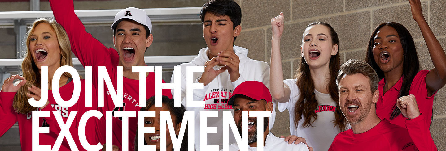ALEXANDER COUGARS The Official Online Store Join the Excitement Banner