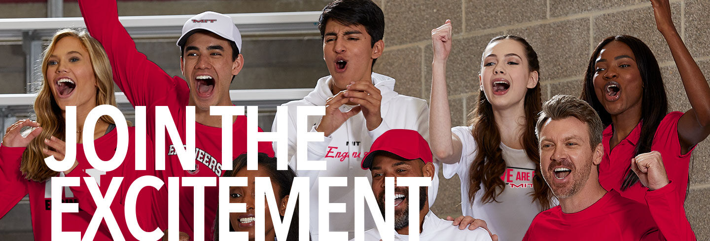 Massachusetts Institute of Technology Join the Excitement Banner