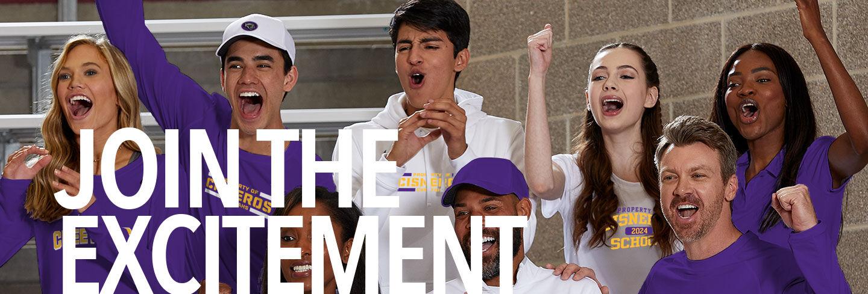 Cisneros Cheetahs Join the Excitement Banner