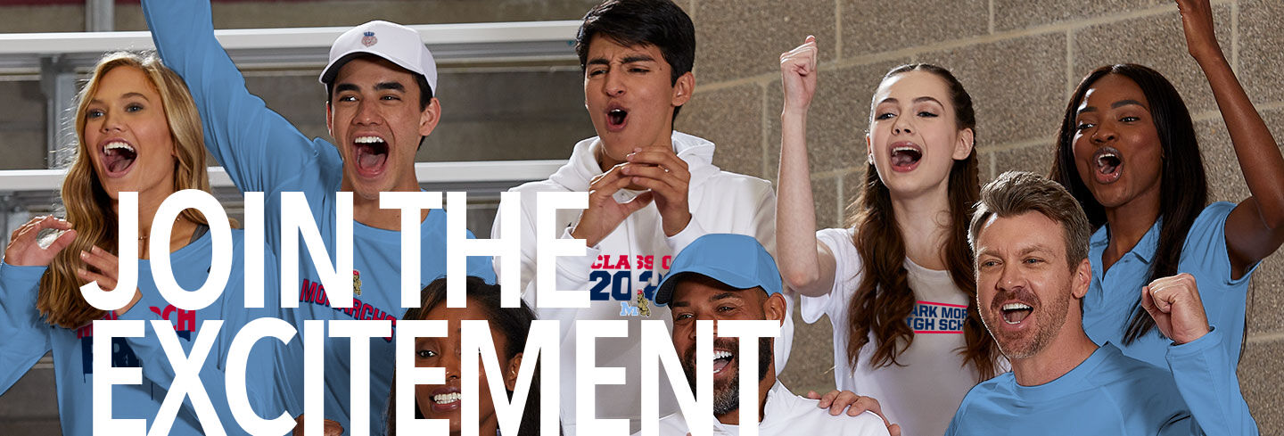 Mark Morris Monarchs Join the Excitement Banner