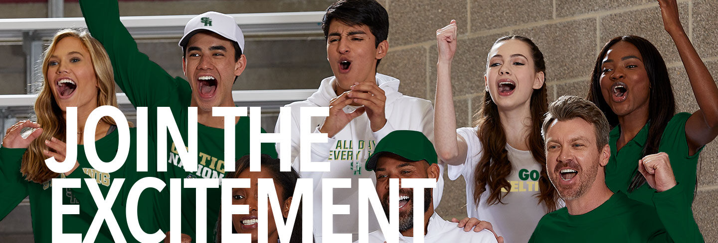 St. Hedwig Celtics Join the Excitement Banner