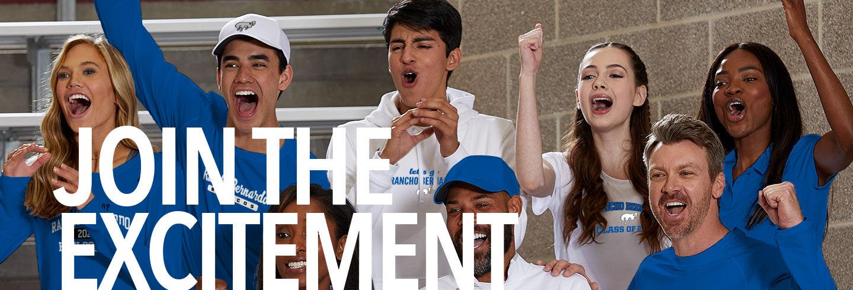 Rancho Bernardo Broncos Join the Excitement Banner
