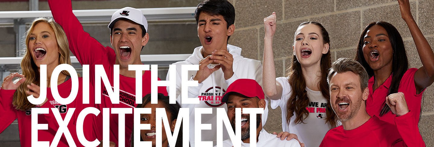 Hatboro Horsham Hatters The Official Online Store Join the Excitement Banner