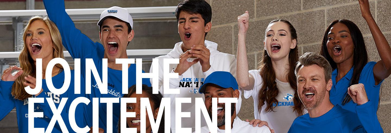 Kansas Jackrabbits Join the Excitement Banner
