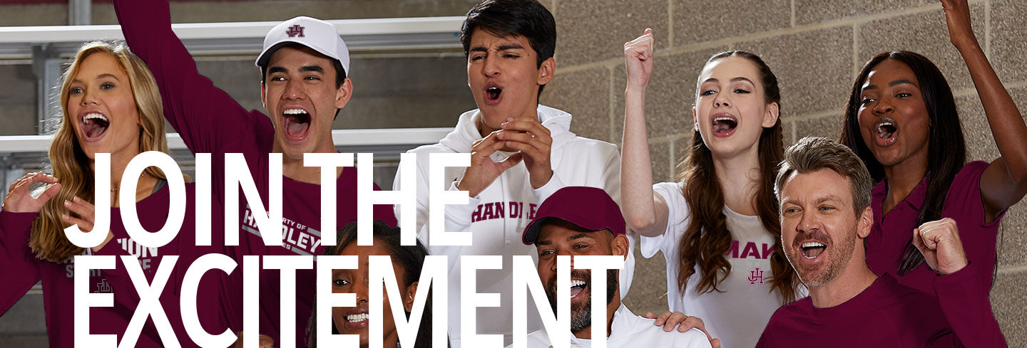 HANDLEY JUDGES The Official Online Store Join the Excitement Banner