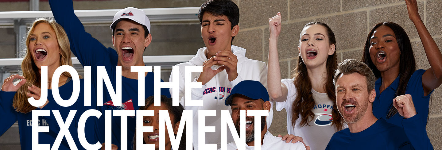 ECAC ECAC Hockey Join the Excitement Banner