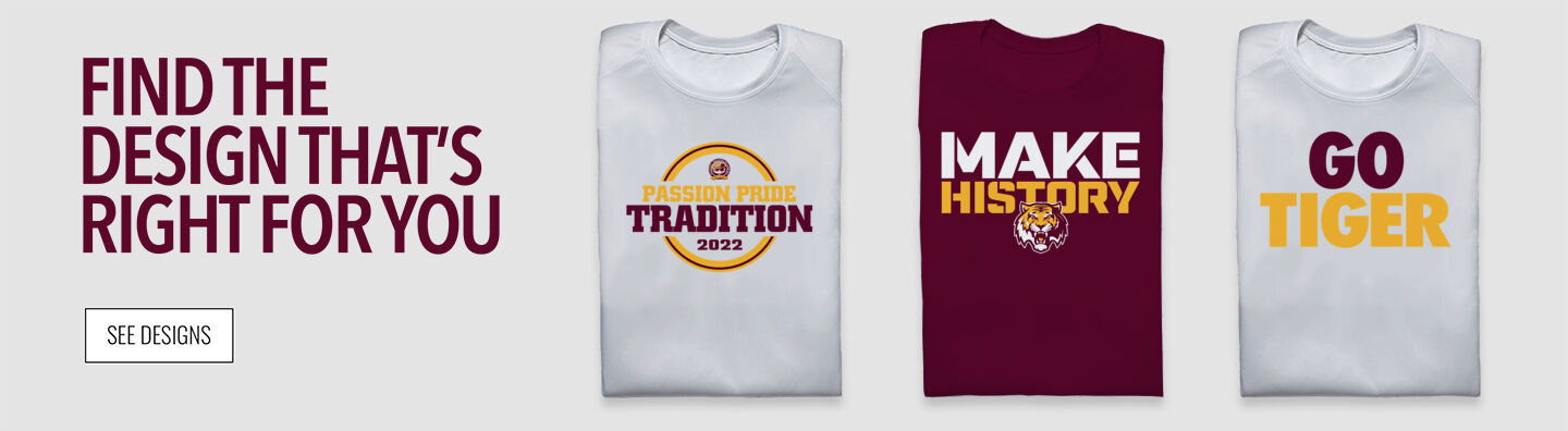STATEN ISLAND ACADEMY The Official Store of the Tigers Find Your Design Banner
