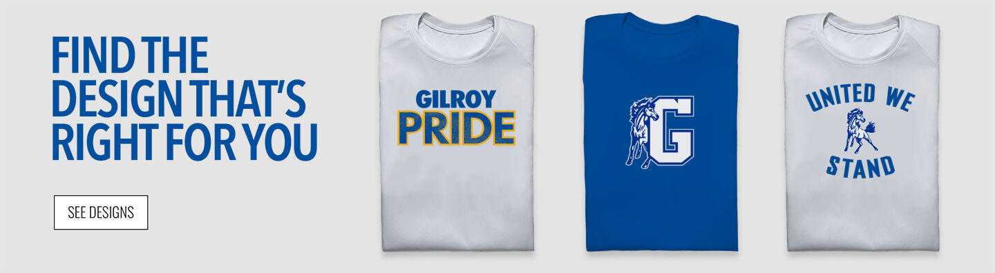 Gilroy Mustangs Find Your Design Banner