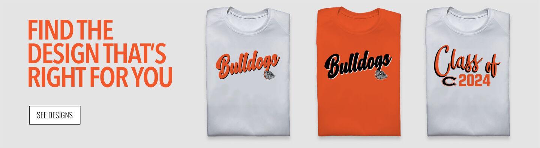 Cashmere Bulldogs Find Your Design Banner