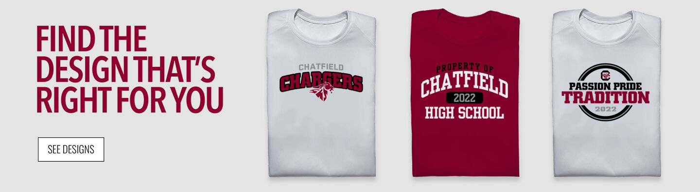 Chatfield Chargers Find Your Design Banner