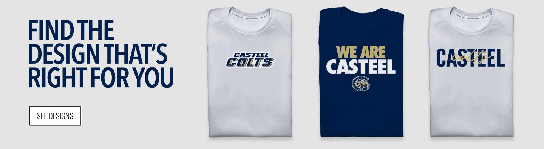 Casteel Colts Find Your Design Banner