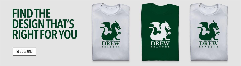 Drew Dragons Find Your Design Banner