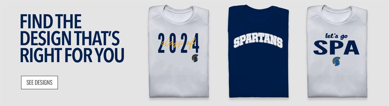 SPA Spartans Find Your Design Banner