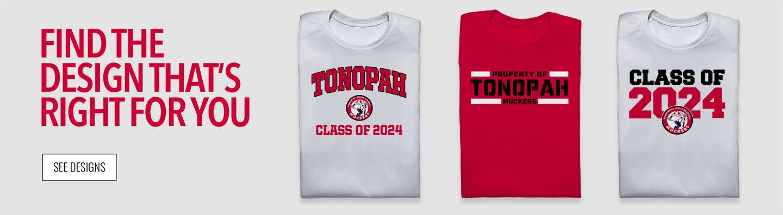 TONOPAH HIGH SCHOOL MUCKERS Find Your Design Banner