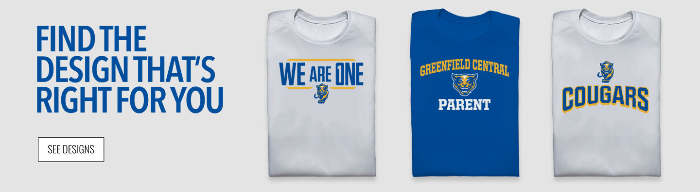 Greenfield Central Cougars Online Store Find Your Design Banner