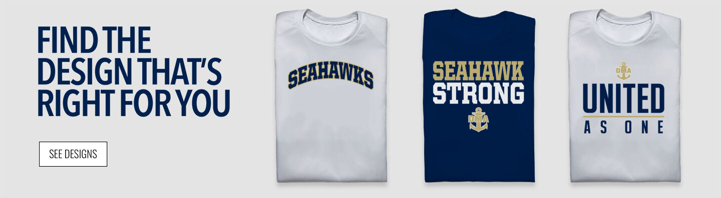 DELAWARE MILITARY ACADEMY SEAHAWKS STORE Find Your Design Banner