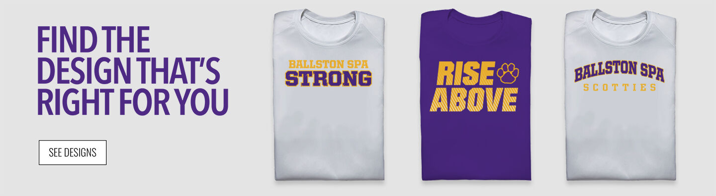 Ballston Spa Scotties The Official Online Store Find Your Design Banner