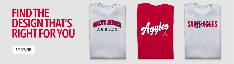 Saint Agnes Aggies Find Your Design Banner