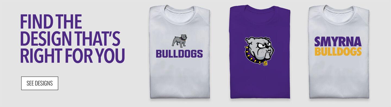 Smyrna Bulldogs Find Your Design Banner