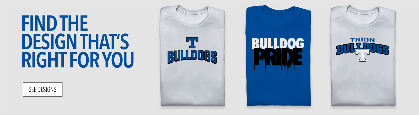 Trion Bulldogs Find Your Design Banner