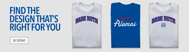 Babe Ruth Alumni Find Your Design Banner