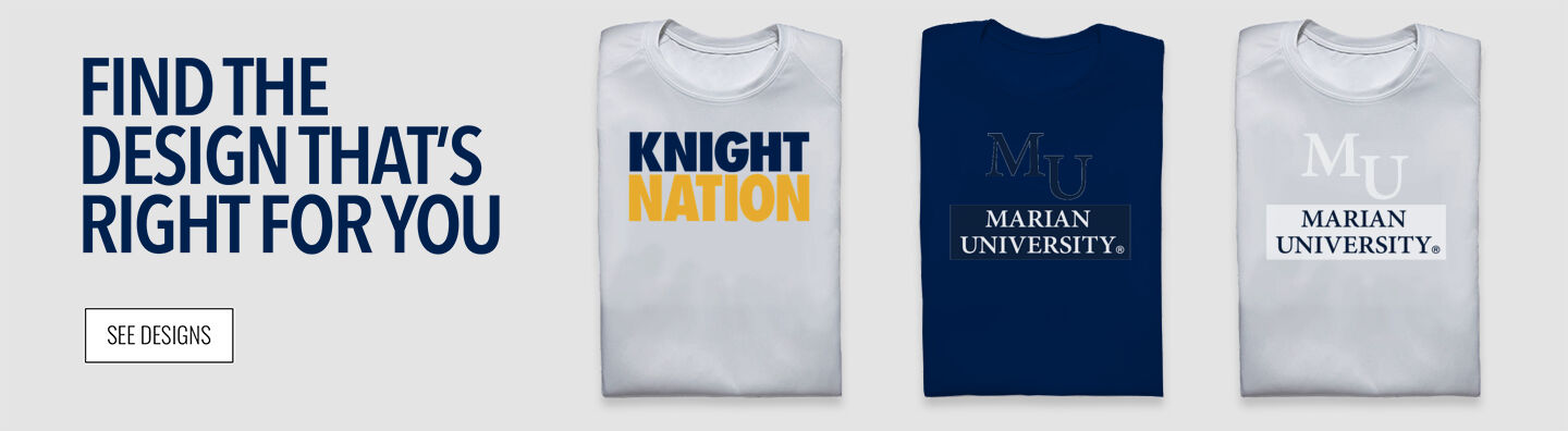Marian University Knights Online Store Find Your Design Banner