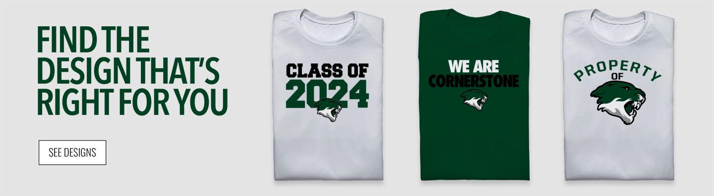 Cornerstone Cougars Find Your Design Banner
