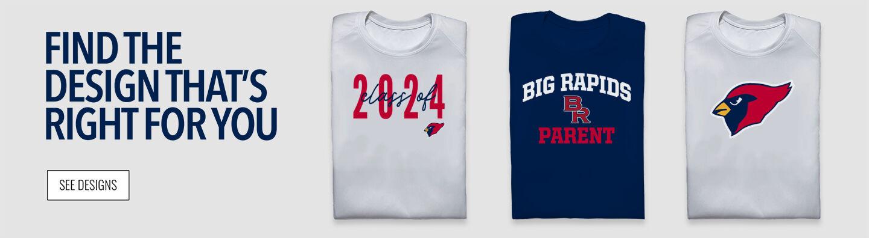 Big Rapids Cardinals Find Your Design Banner