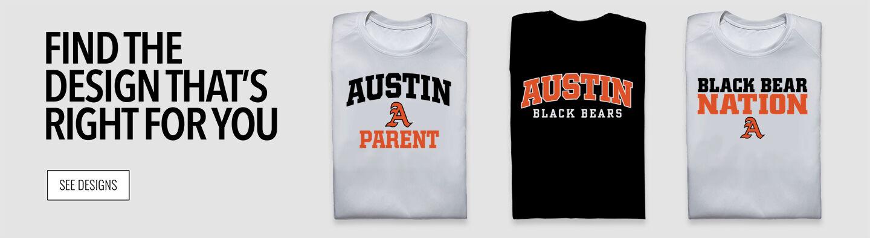 AUSTIN HIGH SCHOOL BLACK BEARS Find Your Design Banner