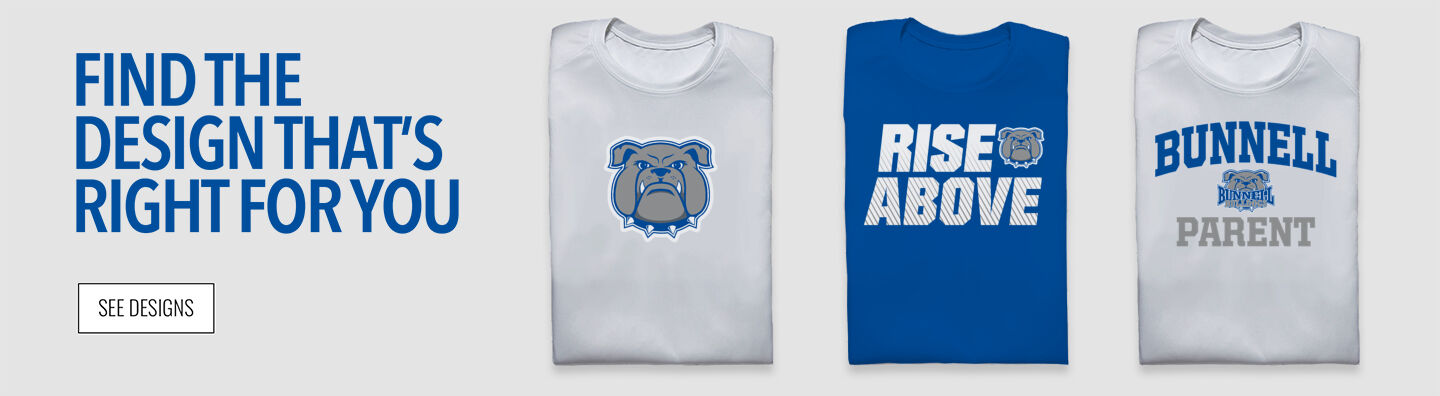 Bunnell Bulldogs Find Your Design Banner