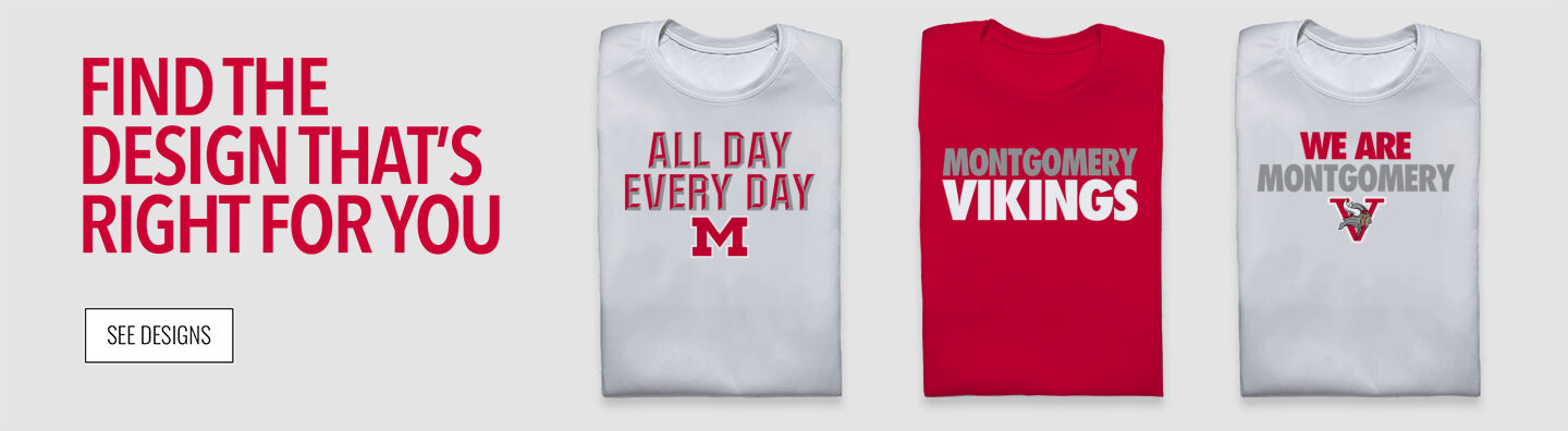 Montgomery Vikings Find Your Design Banner