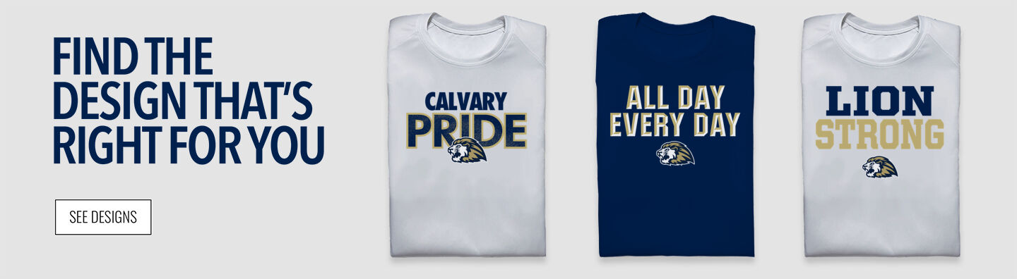 Calvary Lions Find Your Design Banner