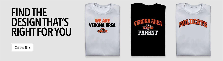 Verona Area Wildcats Find Your Design Banner