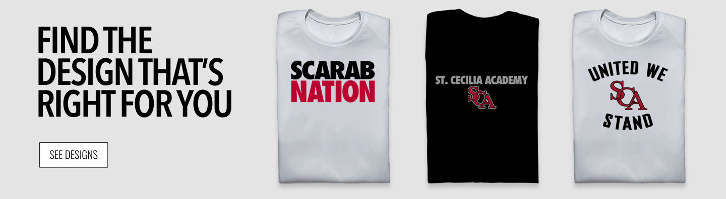 St. Cecilia Academy Scarabs Find Your Design Banner