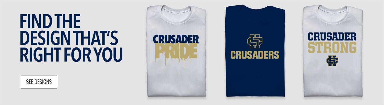 Bishop Heelan Crusaders Find Your Design Banner