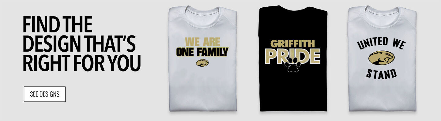 GRIFFITH HIGH SCHOOL PANTHERS Find Your Design Banner
