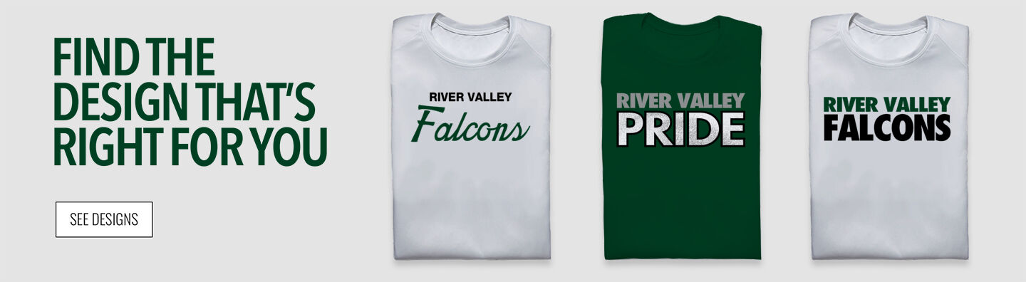 River Valley Falcons Find Your Design Banner
