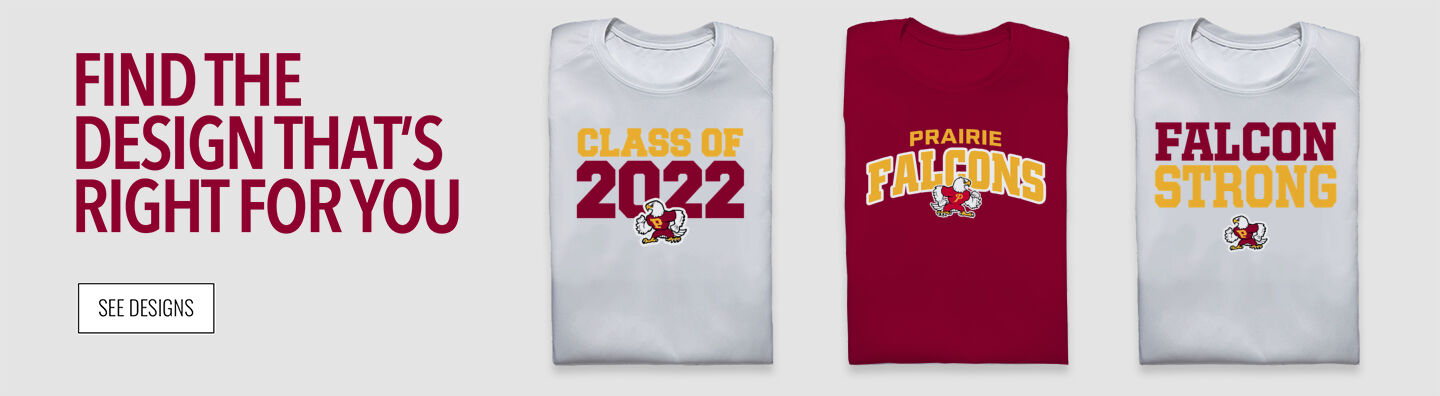 Prairie Falcons Find Your Design Banner