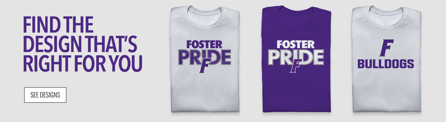 Foster Bulldogs Find Your Design Banner