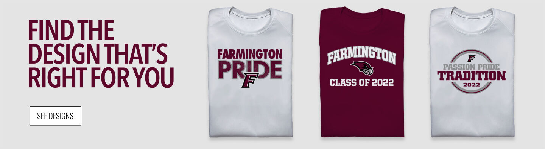 Farmington High School Find Your Design Banner
