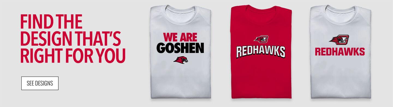 Goshen RedHawks Find Your Design Banner