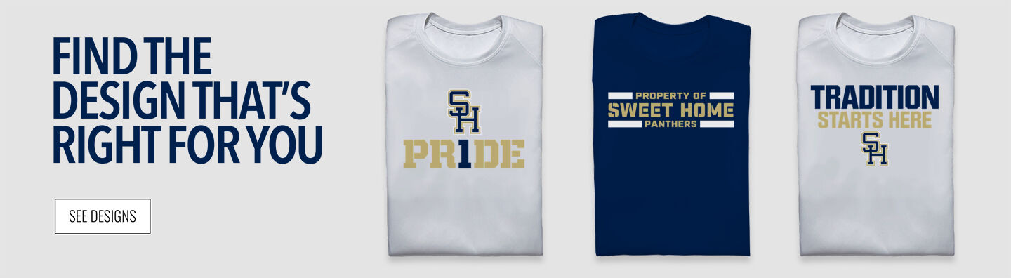 SWEET HOME HIGH SCHOOL PANTHERS Find Your Design Banner