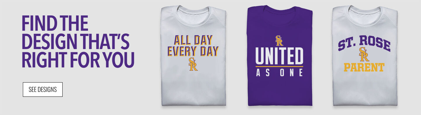ST. ROSE HIGH SCHOOL The Official Online Store Find Your Design Banner