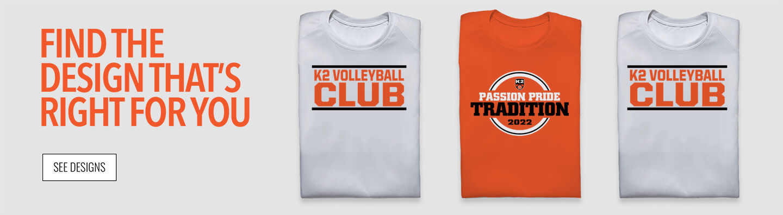 K2 Volleyball Find Your Design Banner