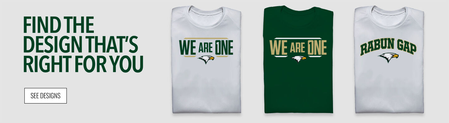 Rabun Gap Eagles Find Your Design Banner