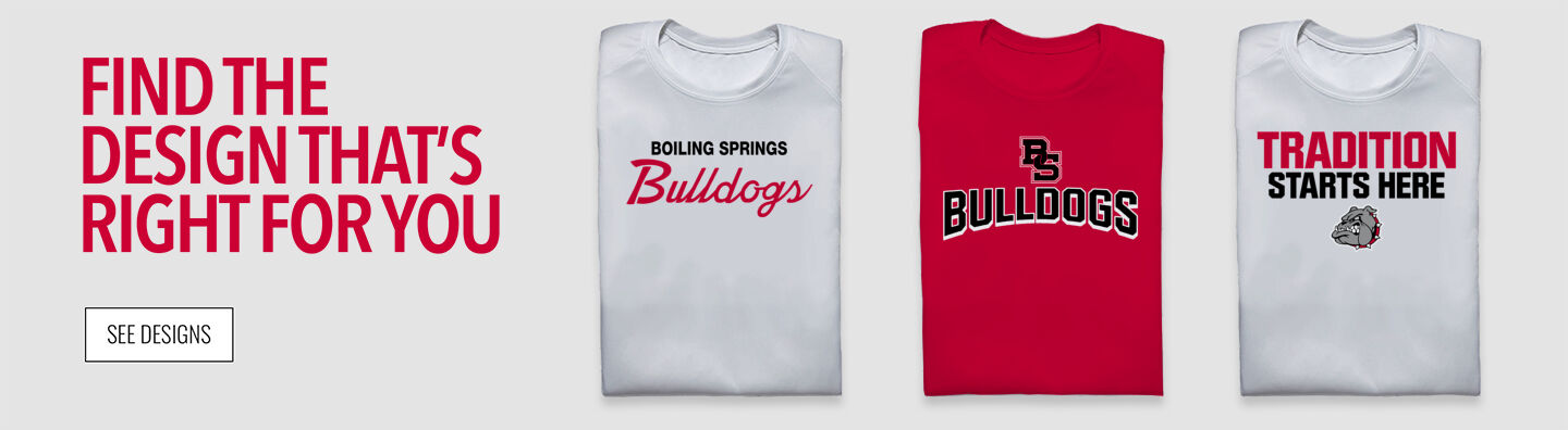 BOILING SPRINGS HIGH SCHOOL The Official Online Store Find Your Design Banner