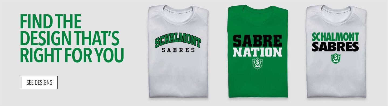 Schalmont Sabres Find Your Design Banner